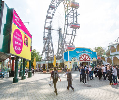 Outdoor Media - Prater Wien LED Wall